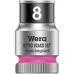 """WERA Dop met vasthoudfunctie 8.0 mm HF 1/4""""-aandrijving"""