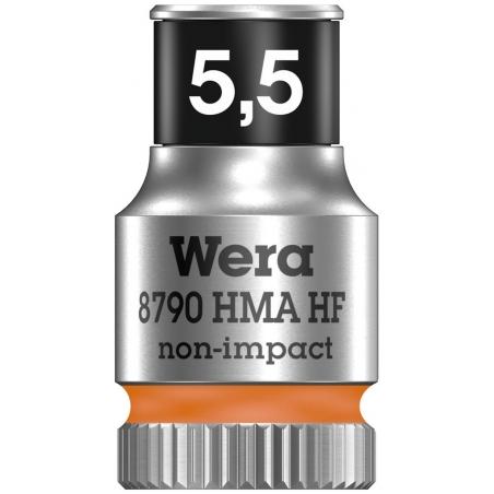 """WERA Dop met vasthoudfunctie 13.0- 1/4"""""""