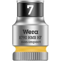 """WERA Dop met vasthoudfunctie 14.0- 1/4"""""""
