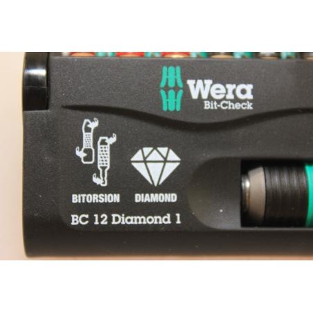 WERA Bit-Check, BC 12 Diamond 1