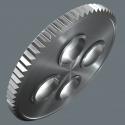 """WERA Zyklop Metal-ratelset 8003 C SA doorsteekvariant 1/2"""""""