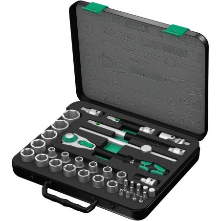 WERA Zyklop 37-delige Doppenset 8100 SC 2 Zyklop-ratelset