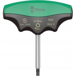 WERA 400 i Hex draaimoment 4.0 Nm T-Grip Inbus 4.0x60 mm