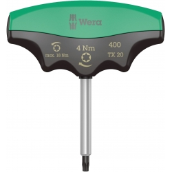 WERA 400 TX Draaimoment 4.0 Nm T-Grip TX 20