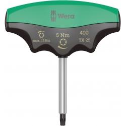 WERA 400 TX Draaimoment 5.0 Nm T-Grip TX 25