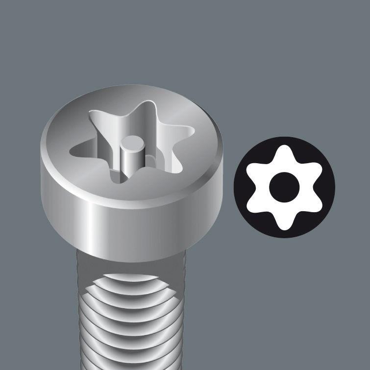 TORX® Micro-schroevendraaiers met boring(BO)
