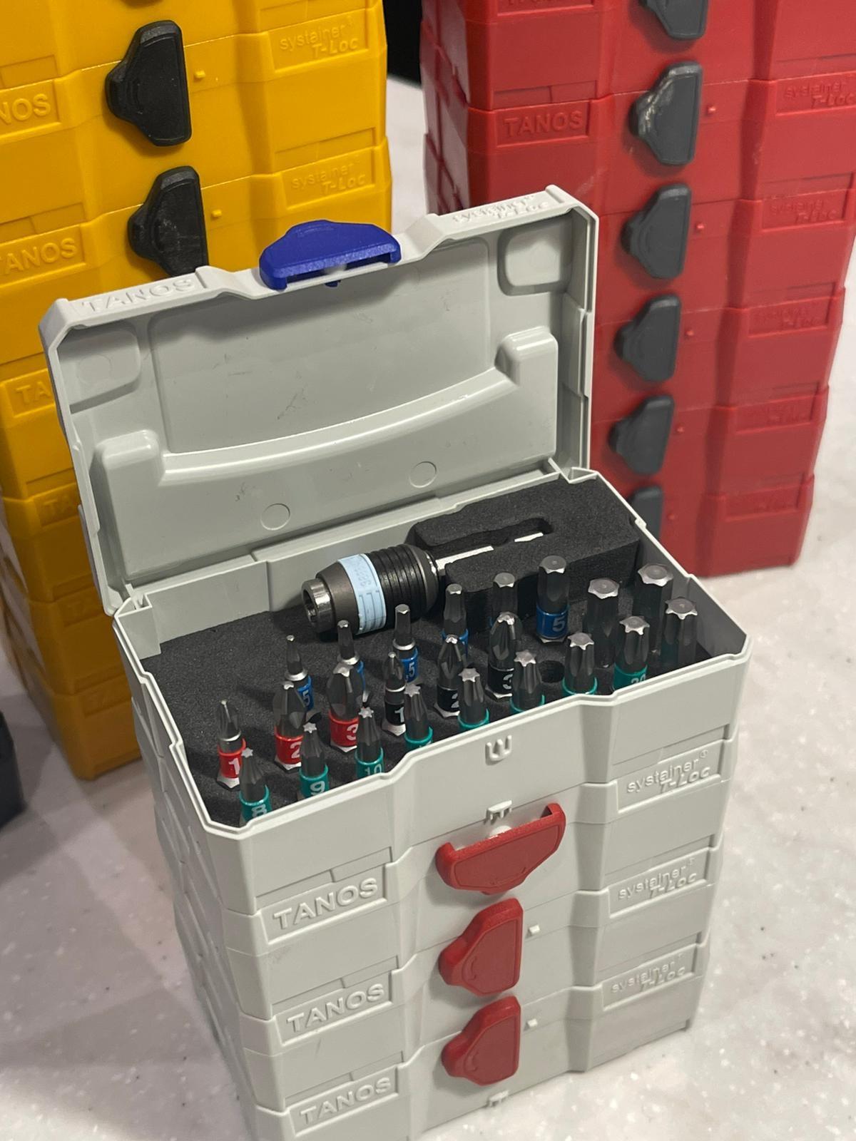 Stel je eigen bitset samen met deze handige en stapelbare mini systainer